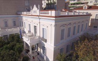 Η εκδήλωση φιλοξενήθηκε στην ιστορική βιβλιοθήκη του Ιδρύματος Λασκαρίδη, που βρίσκεται στο Πασαλιμάνι  στον Πειραιά.