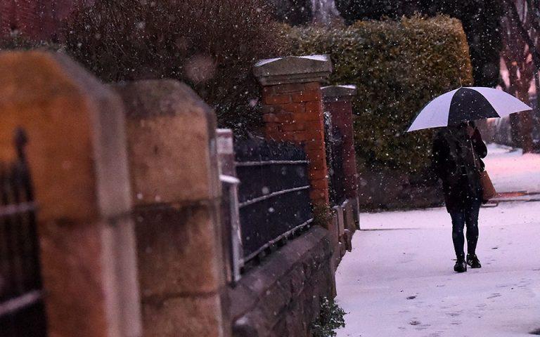 Η χιονοθύελλα «Εμμα» άδειασε τα σουπερμάρκετ στην Ιρλανδία