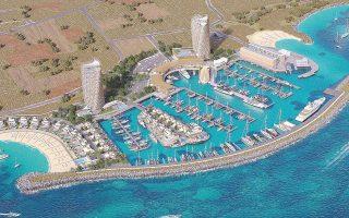 H επένδυση της εισηγμένης στην Αγία Νάπα στην Κύπρο υπολογίζεται στα 164 εκατ. ευρώ, ενώ αναμένεται και η έναρξη των εργασιών στο Καστέλλι Κρήτης, αξίας 480 εκατ. ευρώ.