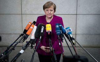 Μπορεί η κ. Αγκελα Μέρκελ να τίθεται επικεφαλής ενός ακόμη μεγάλου συνασπισμού, οι Συντηρητικοί όμως την κατηγορούν ότι απεμπόλησε τα χριστιανοδημοκρατικά ιδεώδη.