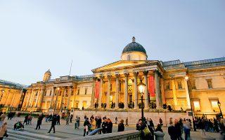 Η Εθνική Πινακοθήκη του Λονδίνου. (Φωτογραφία: Getty Images/Ideal Image)