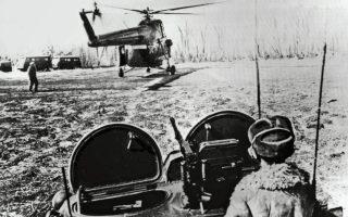 Μάρτιος 1969. Σοβιετικές δυνάμεις κοντά στον ποταμό Ουσούρι. Οι συγκρούσεις μεταξύ Κινέζων και Σοβιετικων κλιμακώθηκαν μέσα σε 15 ημέρες.