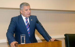 Ο Πρόεδρος της ΚΕΔΕ Γιώργος Πατούλης μιλά στο Πανελλήνιο συνέδριο αιρετών γυναικών με θέμα «Ισότητα στην Αυτοδιοίκηση» διοργανώνει η Ένωση Περιφερειών Ελλάδας (ΕΝΠΕ) , Τρίτη 31 Οκτωβρίου 2017. Στο συνέδριο γίνεται συζήτηση για τις πολιτικές ισότητας στην Αυτοδιοίκηση, την ισόρροπη συμμετοχή των δύο φύλων στα όργανα λήψης αποφάσεων καθώς και σχετικά με την πορεία υλοποίησης του Πρωτοκόλλου Συνεργασίας μεταξύ της Ένωσης Περιφερειών Ελλάδας και της Γενικής Γραμματείας Ισότητας των Φύλων για τη φιλοξενία γυναικών προσφύγων και των παιδιών τους στο δίκτυο δομών πρόληψης και καταπολέμησης της βίας κατά των γυναικών. ΑΠΕ-ΜΠΕ/ΑΠΕ-ΜΠΕ/Παντελής Σαίτας