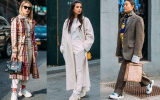 Τα Dad sneakers είναι η νέα τάση που προτείνουν τα πιο διάσημα κορίτσια της μόδας.