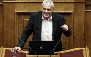 Ο αναπληρωτής υπουργός Αγροτικής Ανάπτυξης και Τροφίμων Γιάννης Τσιρώνης μιλάει στη συζήτηση στην Ολομέλεια της Βουλής για την κύρωση του Κρατικού Προϋπολογισμού οικονομικού έτους 2018, Αθήνα, Δευτέρα 18 Δεκεμβρίου 2017. ΑΠΕ-ΜΠΕ/ΑΠΕ-ΜΠΕ/ΣΥΜΕΛΑ ΠΑΝΤΖΑΡΤΖΗ