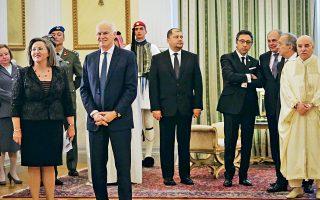 Ημουν κι εγώ στο Προεδρικό για τη δεξίωση προς τιμήν του διπλωματικού σώματος...