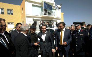 Ο πρωθυπουργός Αλ. Τσίπρας ευχαρίστησε ιδιαιτέρως τα νέα παιδιά της ΕΛ.ΑΣ., που, όπως ανέφερε, βρίσκονται καθημερινά στη μάχη ενάντια στην εγκληματικότητα και στο πλευρό των πολιτών.