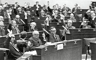 30 Ιανουαρίου 1969. Η Συμβουλευτική Συνέλευση του Συμβουλίου της Ευρώπης με ψήφους 92 έναντι 11 και 20 αποχές καταδικάζει τη χούντα και εισηγείται στην Επιτροπή των υπουργών την εκδίωξη της Ελλάδας από το Συμβούλιο.