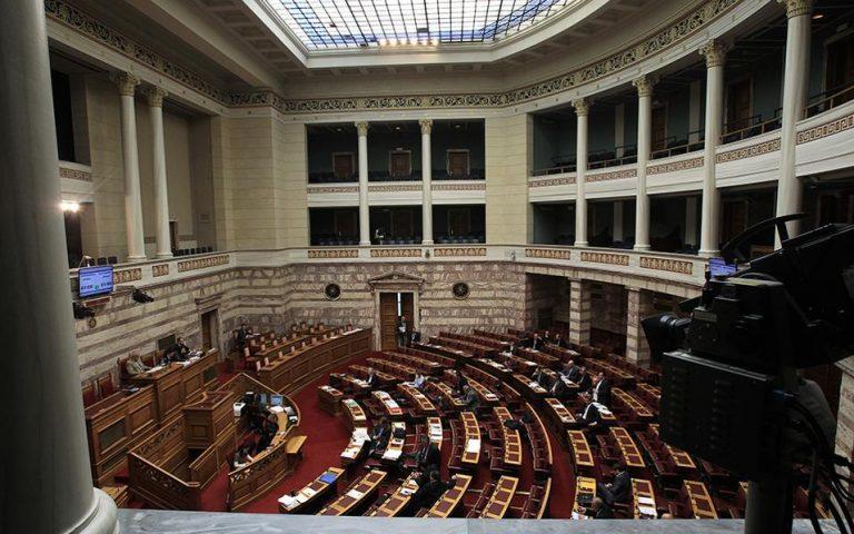 Στην Ολομέλεια παραπέμπεται η ακραία συμπεριφορά της Χρυσής Αυγής στη Βουλή