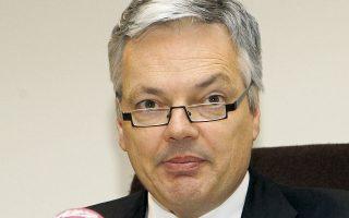 O αντιπρόεδρος της κυβέρνησης του Βελγίου Didier Reynders.