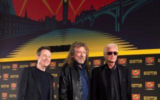 Αφιέρωμα στο μυθικό ροκ συγκρότημα Led Zeppelin στο Μέγαρο Μουσικής.