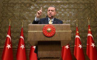 Οι ρητορικές εξάρσεις του Ερντογάν είναι πλέον καθημερινό φαινόμενο.
