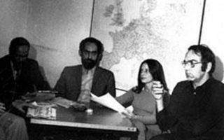 H Ελληνική Σύνταξη της DW την εποχή της δικτατορίας (ο Κώστας Νικολάου δεξιά)