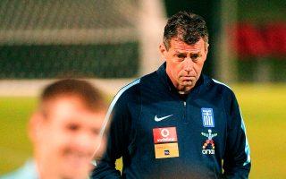 Ο προπονητής της εθνικής Ελλάδος δεν άφησε ασχολίαστη την υπόθεση της Τούμπας.