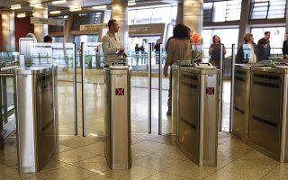 Από τους συνολικά 41 σταθμούς του μετρό (γραμμές 2 και 3), κλειστές πύλες διαθέτουν οι 24.