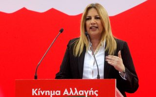 Η Φώφη Γεννηματά, κατά τη διάρκεια του συνεδρίου, είχε ζητήσει  να ξεκινήσουν οι απαραίτητες κοινοβουλευτικές διαδικασίες για τη συ-νταγματική αναθεώρηση.
