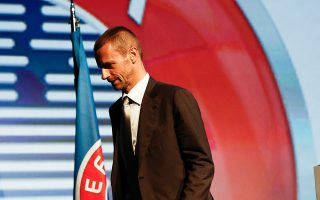 Ο πρόεδρος της UEFA, Α. Σεφέριν, έχει τονίσει την ανάγκη βελτίωσης της ανταγωνιστικότητας, χωρίς όμως να δείχνει ότι μπορεί να επιφέρει τομές.