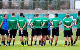 Ο Ουζουνίδης μίλησε χθες στους παίκτες του και τους ζήτησε να μείνουν συγκεντρωμένοι στα αγωνιστικά θέματα.