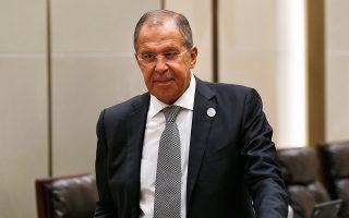 Ο Ρώσος υπουργός Εξωτερικών Σεργκέι Λαβρόφ.