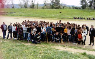 Στο πείραμα συμμετείχαν 150 μαθητές από το 1oΛύκειο Αμαλιάδας, το Γυμνάσιο Γαστούνης και το 2o Λύκειο Πύργου.