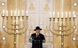 Σε εκδήλωση για το άνοιγμα της συναγωγής στη Σουμπότιτσα της σερβικής Βοϊβοντίνα μίλησε την Παρασκευή ο Ούγγρος πρωθυπουργός Βίκτορ Ορμπαν.