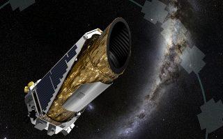 Το διαστημικό τηλεσκόπιο «Κέπλερ» σε καλλιτεχνική απεικόνιση.
