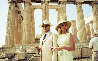 «Τυχεροί» οι Βίγκο Μόρτενσεν και Κίρστεν Ντανστ στην Ακρόπολη, που δεν αναγκάστηκαν να κάνουν αλλού γυρίσματα για «Τα δύο πρόσωπα του Ιανουαρίου».