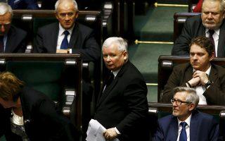 Ο επικεφαλής του κυβερνώντος κόμματος PiS, Γιάροσλαβ Κατσίνσκι.