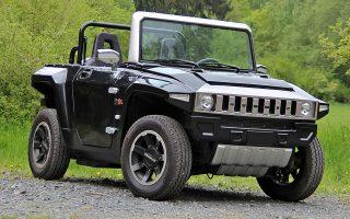 Το ηλεκτροκίνητο Hummer κατασκευάζεται σήμερα στην Κίνα και κοστίζει 19.000 ευρώ.
