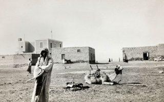 Στο δρόμο προς το Σινά, Αίγυπτος 1929/1933. © Roussen Collection / Saint Catherine Foundation