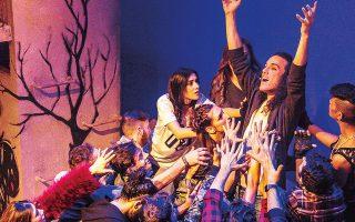 Στο θέατρο Ακροπόλ συνεχίζεται η παράσταση «Jesus Christ Superstar».
