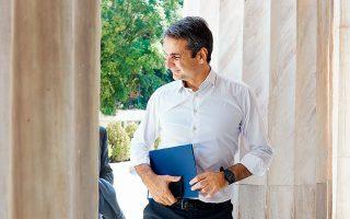 Ο Κυρ. Μητσοτάκης παρέλαβε χθες το βράδυ στο γραφείο του στη Βουλή την επιστολή της κ. Φώφης Γεννηματά για την αναγκαιότητα της συνταγματικής αναθεώρησης.