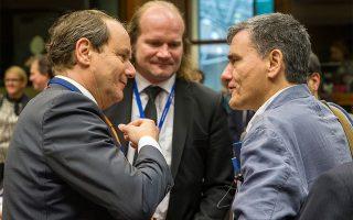 Ο νέος επικεφαλής του EWG Hans Vijlbrief (αριστερά)