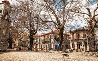 Μια βόλτα στον Κοσμά συμπληρώνει υπέροχα την εκδρομή στην Τσακωνιά. (Φωτογραφία: ΔΗΜΗΤΡΗΣ ΒΛΑΪΚΟΣ)