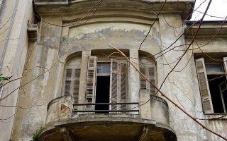 Μοσχάτο, κοντά στις εκβολές του Κηφισού. Σπίτι του Μεσοπολέμου στην οδό Αγίου Κωνσταντίνου.