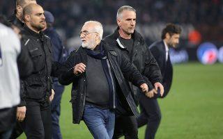 «Συγγνώμη από όλους τους φιλάθλους του ΠΑΟΚ, όλους τους Ελληνες φιλάθλους και την παγκόσμια ποδοσφαιρική κοινότητα για τα γεγονότα της Τούμπας», ζήτησε ο Ιβάν Σαββίδης.