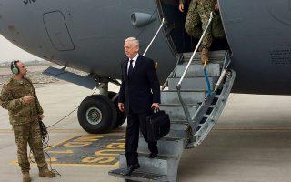 «Επιδιώκουμε τη νίκη στο Αφγανιστάν. Oχι μια στρατιωτική νίκη, αλλά την πολιτική συμφιλίωση με τους Ταλιμπάν», τόνισε ο Τζιμ Μάτις.