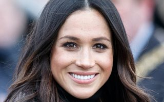 epa06588534 (FILE) - Meghan Markle during a visit to Edinburgh Castle, in Edinburgh, Britain, 13 February 2018. According to media reports on 08 March 2018, Meghan Markle got baptized in a private ceremony at a chapel at Kensington Palace on 06 March, as the Church of England confirmed. Britain's Prince Harry and his fiancee Meghan Markle are getting married on 19 May.  EPA/ROBERT PERRY