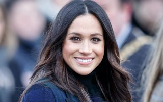 epa06521807 Meghan Markle during a visit to Edinburgh Castle, in Edinburgh, Britain, 13 February 2018. Britain's Prince Harry and his fiancee Meghan Markle are on their first official joint visit to Scotland.  EPA/ROBERT PERRY