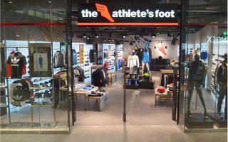 Στα δεκατέσσερα καταστήματα The Athlete's Foot πρόκειται να προστεθούν άλλα δύο.