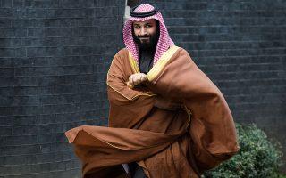 Ο Σαουδάραβας πρίγκιπας Μοχάμεντ μπιν Σαλμάν δεν χάνει την ευκαιρία στις επαφές που έχει με ηγέτες άλλων χωρών να προωθεί το σχέδιό του για τα πυρηνικά.