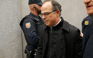 O υποψήφιος για την προεδρία της Καταλονίας Ζόρντι Τουρούλ.