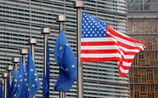 Είναι το πρώτο βήμα, προληπτικό θα μπορούσε να πει κανείς, στην περίπτωση που η Ουάσιγκτον αποφασίσει να μην εξαιρέσει την Ευρωπαϊκή Ενωση από την επιβολή δασμών.