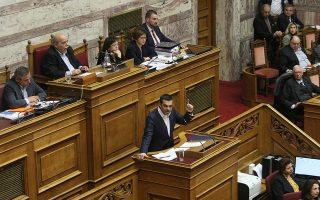 Ο πρωθυπουργός Αλέξης Τσίπρας βρίσκεται αντιμέτωπος με συνεχείς ενδοκυβερνητικές αναταράξεις.