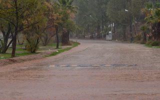 Δυνατή βροχή έπεσε στην ευρύτερη περιοχή του Ναυπλίου, Σάββατο 10 Φεβρουαρίου 2018. Έντονα ήταν τα καιρικά φαινόμενα με καταιγίδα και πυκνή ομίχλη στην πόλη του Ναυπλίου. ΑΠΕ-ΜΠΕ/ ΑΠΕ-ΜΠΕ/ ΜΠΟΥΓΙΩΤΗΣ ΕΥΑΓΓΕΛΟΣ
