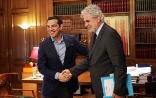 Ο πρωθυπουργός Αλέξης Τσίπρας υποδέχθηκε χθες στο Μαξίμου τον επίτροπο Ανθρωπιστικής Βοήθειας και Διαχείρισης Κρίσεων Χρήστο Στυλιανίδη.