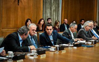 Ο πρωθυπουργός Αλ. Τσίπρας, κατά τη διάρκεια του χθεσινού υπουργικού συμβουλίου, κάλεσε τους γείτονες «να αφήσουν αυτή την αδιέξοδη ρητορική κλιμάκωση, διότι δεν οδηγεί πουθενά».