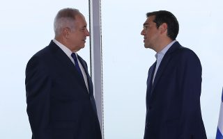 O Αλ. Τσίπρας με τον Ισραηλινό ομόλογό του Μπέντζαμιν Νετανιάχου, τον περασμένο Ιούνιο, στη Θεσσαλονίκη.