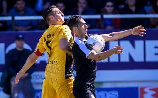 Με σκόρερ τους Μάνο (45΄) και Βουό (48΄) ο ΟΦΗ επικράτησε με 2-0.