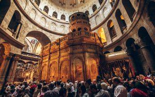 Πάσχα στην Ιερουσαλήμ, στην πατρίδα των τριών μεγάλων μονοθεϊστικών θρησκειών που γέννησε η λεκάνη της Μεσογείου.